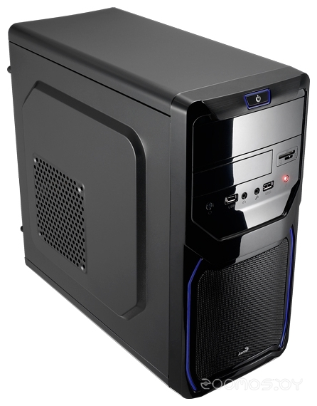Корпус AEROCOOL Qs-183 Advance Blue