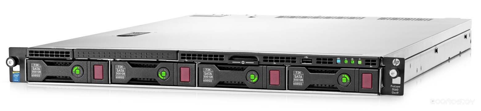 Сервер HPE Proliant DL60 Gen9