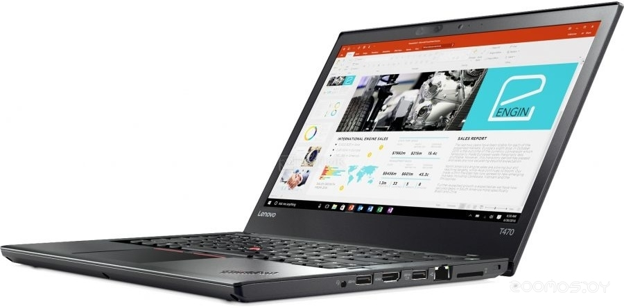 Ноутбук Lenovo ThinkPad T470 (20HD005QRT)