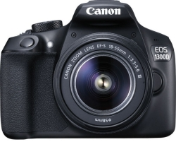 Canon EOS 1300D Kit 18-55 mm + 75-300 mm