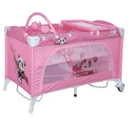 Lorelli Travel Kid Rocker Pink Panda [10080231637]