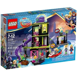 Lego DC Super Hero Girls 41238 Фабрика Криптомитов Лены Лютор
