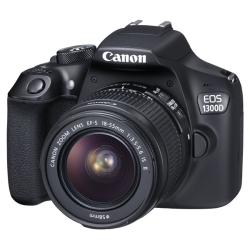 Canon EOS 1300D EF-S 18-55 III + EF 50 1.8 STM