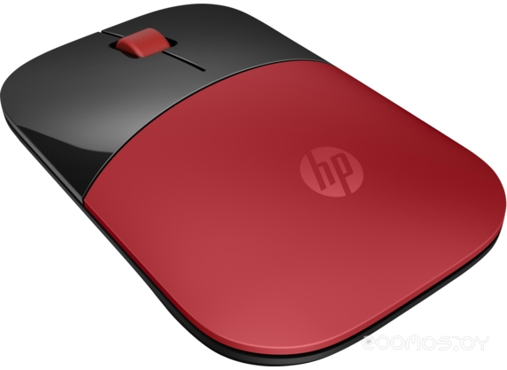 Мышь HP Z3700 Wireless Mouse USB (Red)