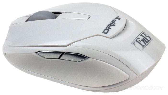 T'nB Wireless laser mouse DRIFT White USB