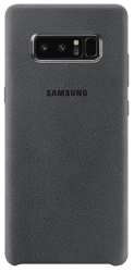 Samsung Alcantara Cover Note8 (Dark Grey)