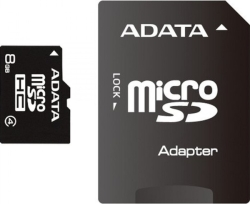 A-Data microSDHC Class 4 + SD adapter