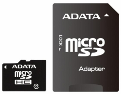 A-Data Premier microSDHC Class 10 UHS-I U1 + SD adapter 8Gb