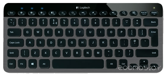 Клавиатура Logitech Illuminated Keyboard K810 Black Bluetooth