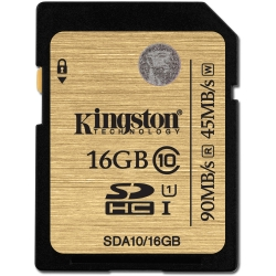 Kingston SDHC Ultimate UHS-I U1 (Class 10) 16GB