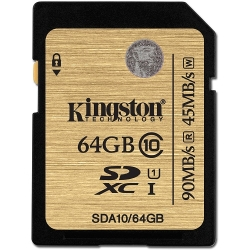 Kingston SDXC Ultimate UHS-I U1 (Class 10) 64GB