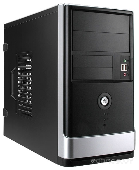 Корпус IN WIN EMR002 w/o PSU Black/silver