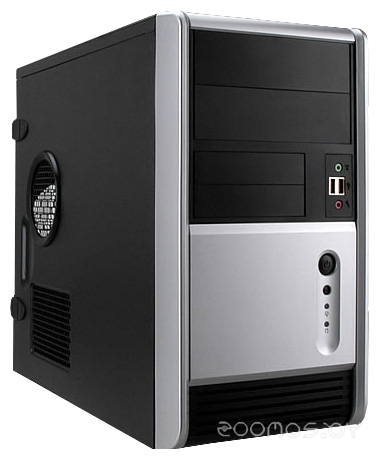 Корпус IN WIN EMR006 w/o PSU Black/silver