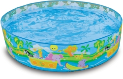 INTEX Happy Animals Clearview Snapset Pool 122x25 (58474)