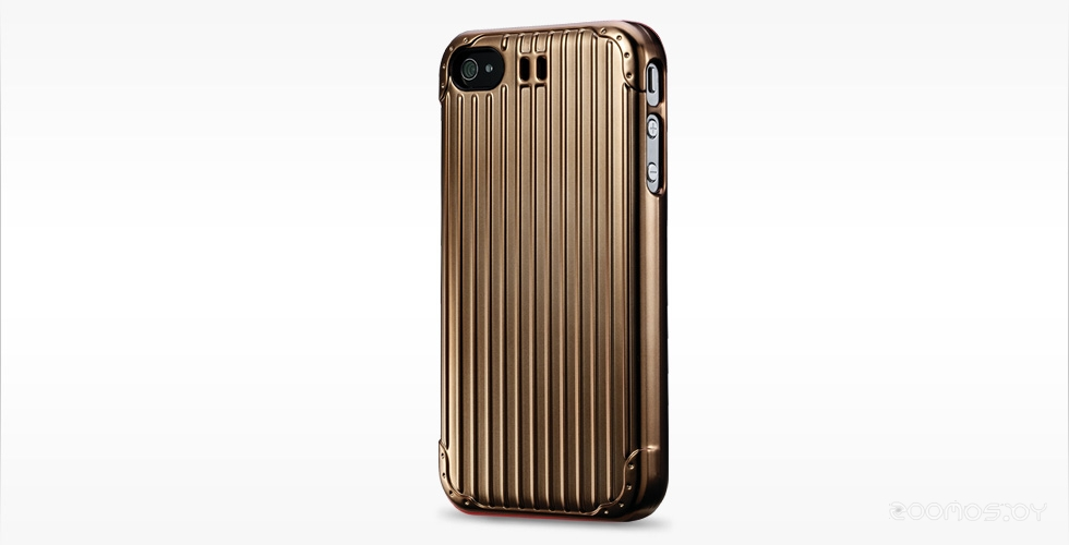Чехол Cooler Master Traveler Suitcase for iPhone 4S/4 Gold