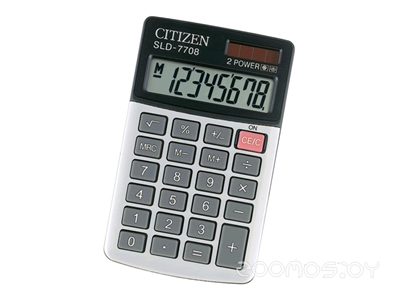 Калькулятор CITIZEN SLD-7708