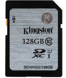 Kingston SDXC (Class 10) 128GB