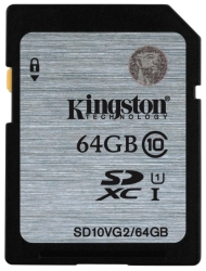 Kingston SDXC (Class 10) 64GB