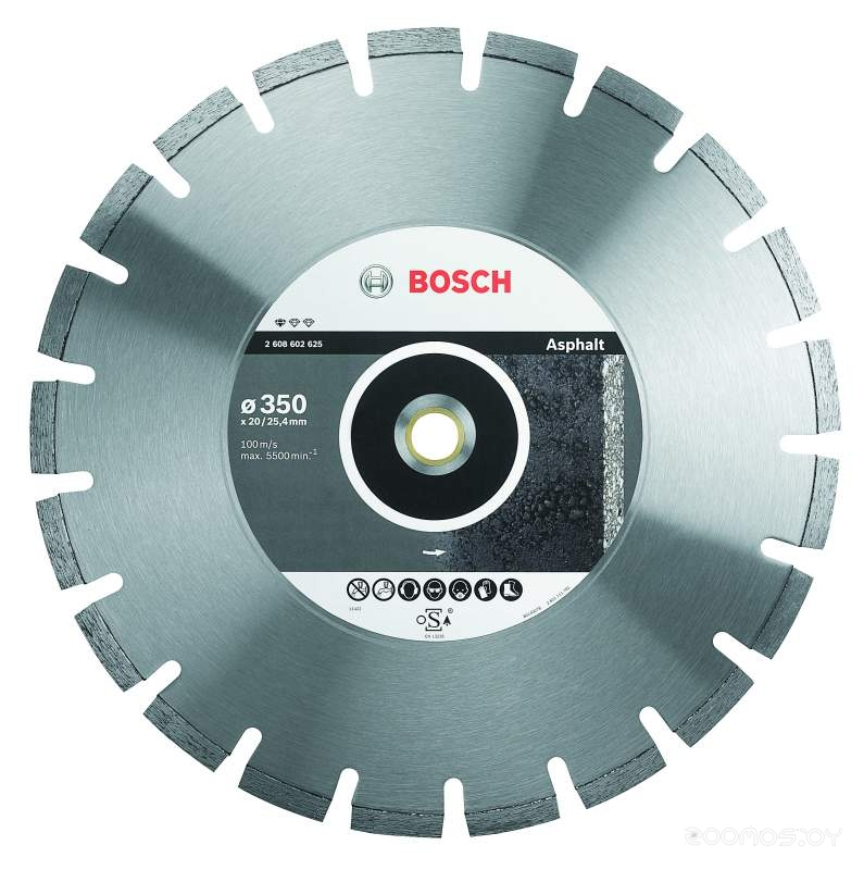 Круг отрезной  Bosch Bosch Best for Universal and Metal 125 мм 1шт.
