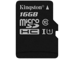 Kingston microSDHC UHS-I (Class 10) 16GB