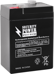 Security Power SP 6-4,5 F1 (6В/4.5 А·ч)