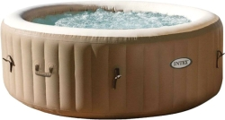 INTEX Pure Spa Bubble Massage Tragbares Spa Pool 216x71 [28408]