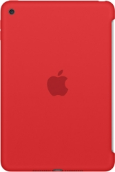 Apple Silicone Case for iPad mini 4 (Red) [MKLN2ZM/A]