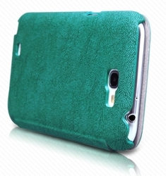 Nillkin Tree-texture Leather Case for Samsung N7100 GALAXY Note II (Green)