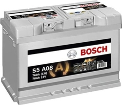 Bosch S5 0092 S5A 080 (70 А/ч)