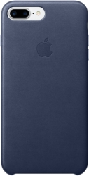 Apple Leather Case для iPhone 7 Plus Midnight Blue [MMYG2]