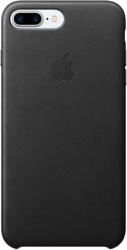 Apple Leather Case для iPhone 7 Plus Black [MMYJ2]